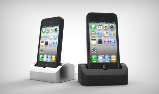 Elevation Dock em iPhones