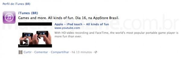 Games na App Store brasileira?