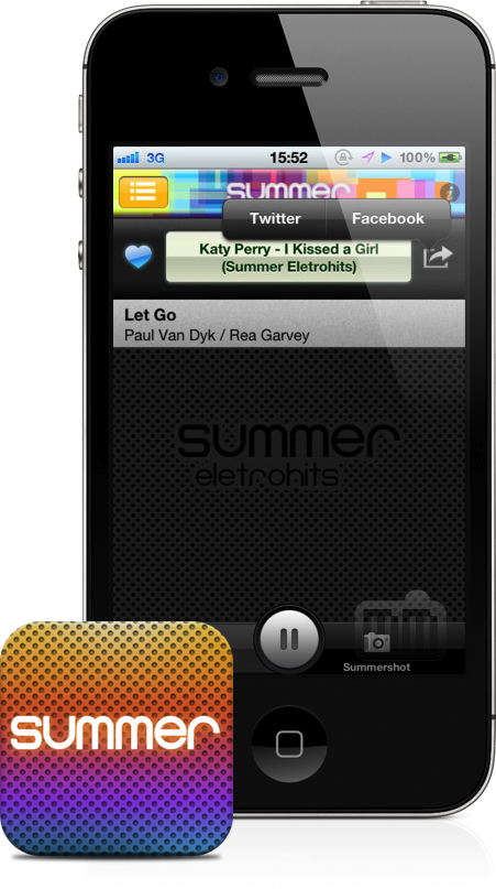 Ícone + App Summer Eletrohits