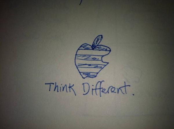 Rascunho da campanha Think Different - Rob Siltanen