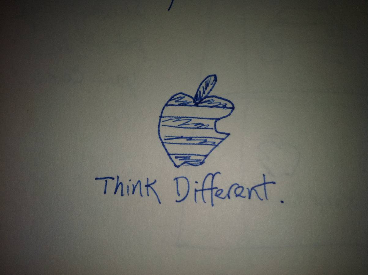 Rascunho da campanha Think Different - Rob Siltanen