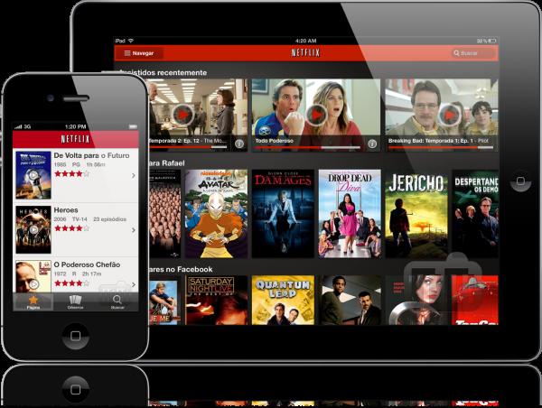Netflix para iOS - iPad e iPhone
