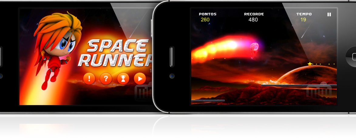Space Runner - iPhone