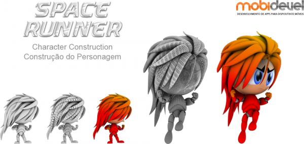 Mascote de Space Runner