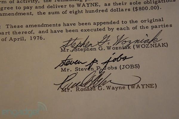 Acervo de documentos de Ron Wayne