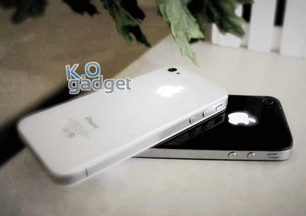 Logo retroiluminado em iPhones