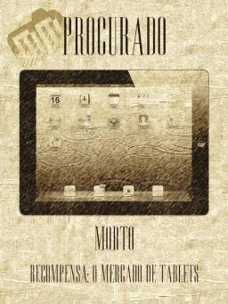 iPad procurado morto