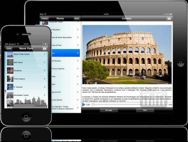 Audioguia Cidades do Mundo - iPad e iPhone