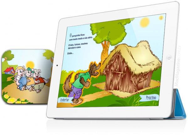Os 3 Porquinhos para iPad