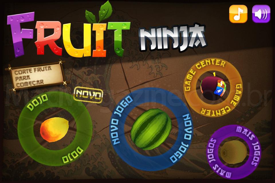Fruit Ninja em português
