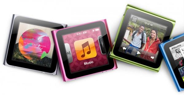 iPod nano sexta geração