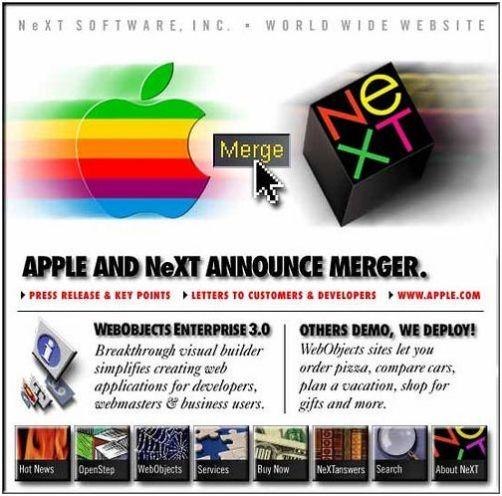 Apple comprando a NeXT
