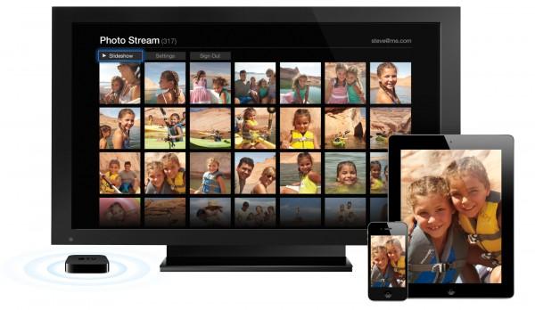 Apple TV no iCloud com iPhone e iPad