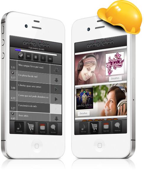 Pedra Letícia em iPhones