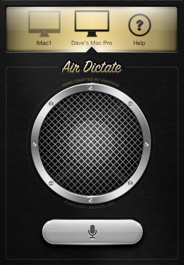 Air Dictate para iPhone 4S