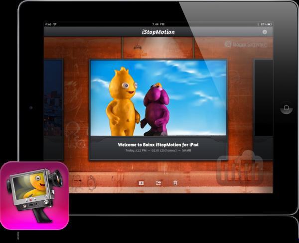 App iStopMotion para iPad