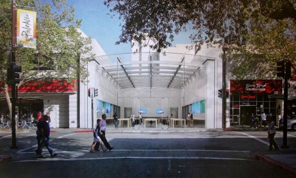 Projeto da nova Apple Store, Palo Alto