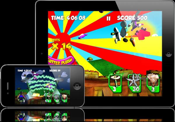 Plush Ninja - iPad e iPhone