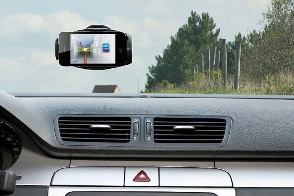 iGO primo app iPhone Car Dock