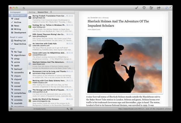 ReadNow - Mac OS X