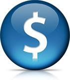 Ícone - Cifrão, $, dinheiro, money