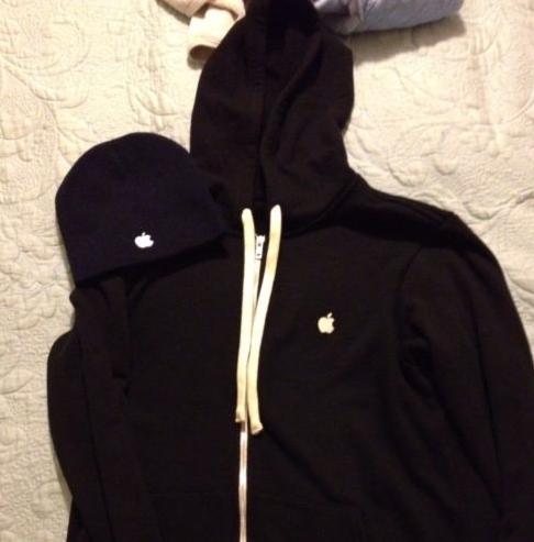 Imitação de hoodie da Apple