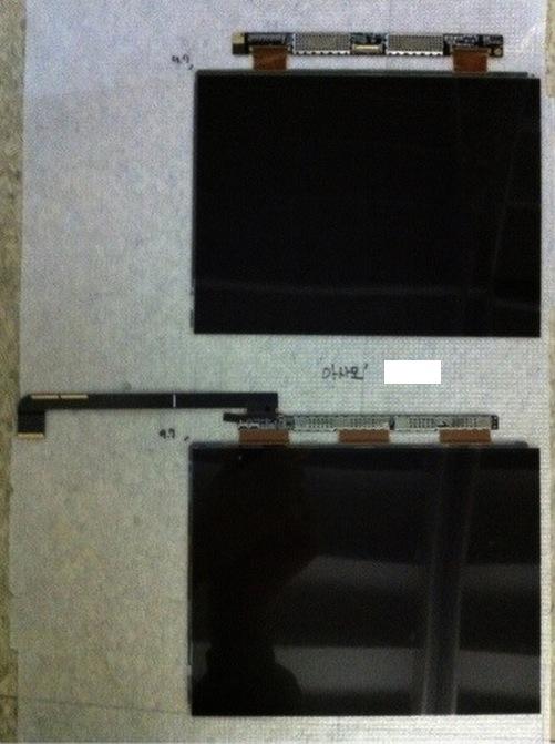 Suposta tela Retina de iPad 3