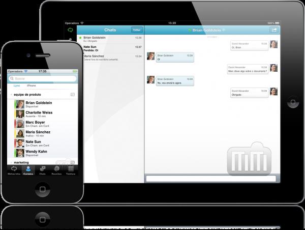 Microsoft Lync 2010 - iPad e iPhone