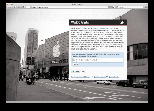 WWDC Alerts