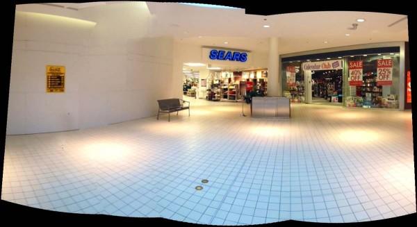 Espaço da futura Apple Store no Halifax Mall