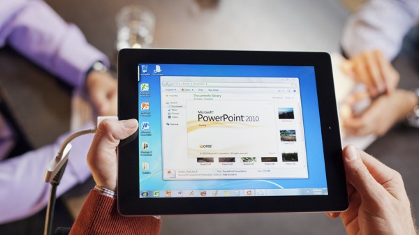 Windows 7 no iPad via OnLive