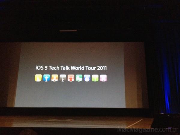 iOS Tech Talk World Tour em São Paulo