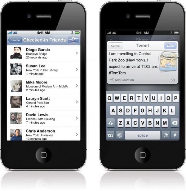 TomTom em iPhones