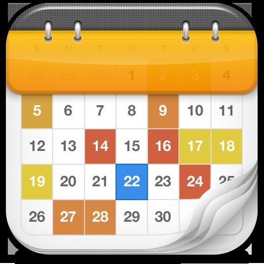 Ícone - Calendars