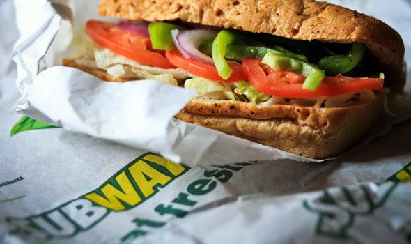 Sanduíche da Subway