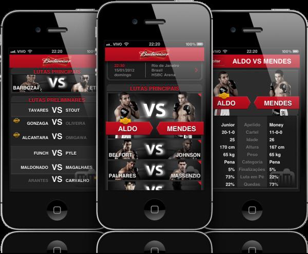 UFC - iPhones