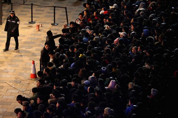 Confusão na China - Lançamento do iPhone 4S