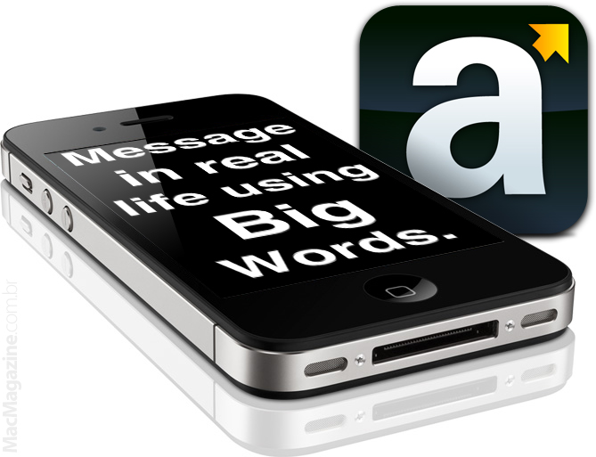 Big Words no iPhone