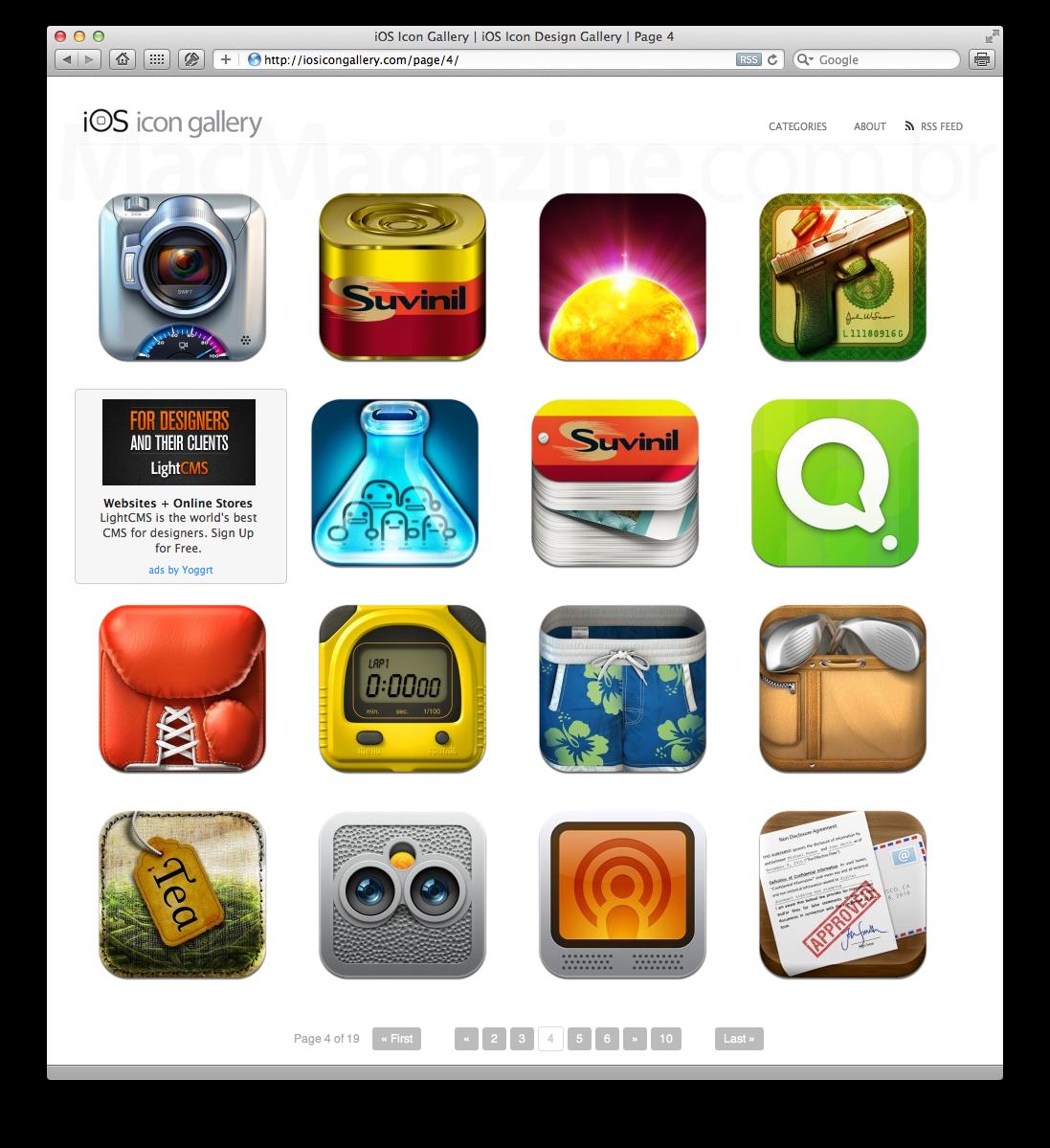 iOS Icon Gallery