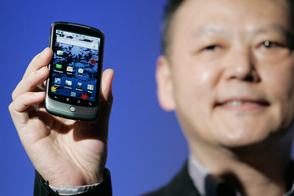 Peter Chou, CEO da HTC