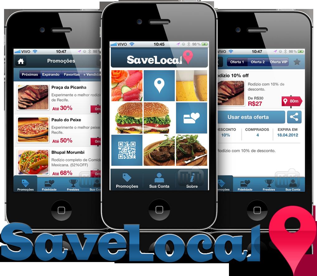 SaveLocal em iPhones