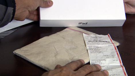 iPad de argila