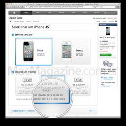 Envio de iPhones 4S