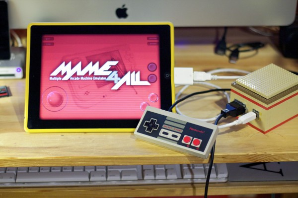 Controle de NES no iPad