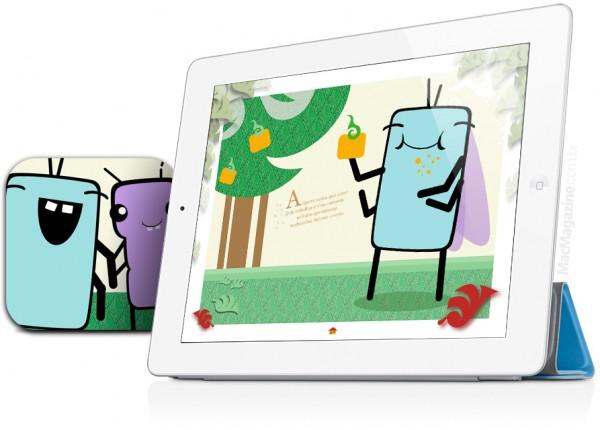 A Cigarra e a Formiga - iPad