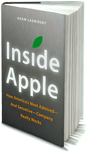 Livro - Inside Apple, de Adam Lashinsky