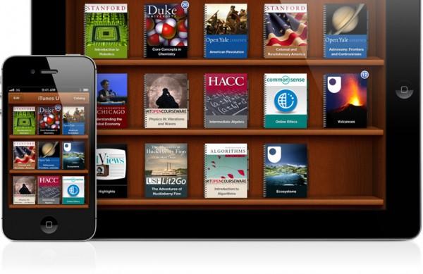iTunes U no iPad e no iPhone