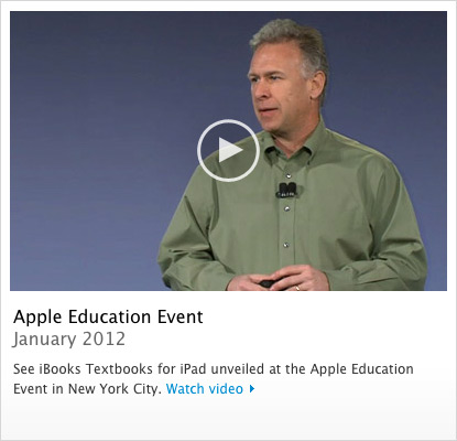 Keynote educacional da Apple