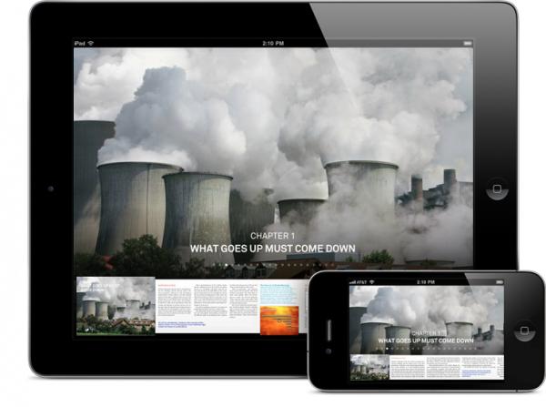 Livro/app Our Choice, escrito por Al Gore