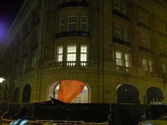Construção da Apple Store em Leidseplein, Amsterdam
